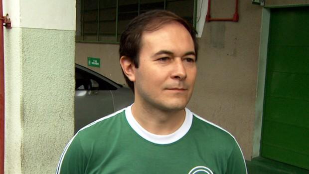 Rodrigo Ferreira da Silva, presidente interino do Guarani (Foto: Carlos Velardi / EPTV)