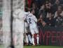 Carvajal pede desculpa após fazer gesto obsceno para torcida do Barça