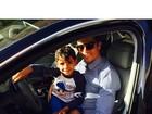 'É fantástico ouvir 'boa sorte' de seu filho', diz Cristiano Ronaldo