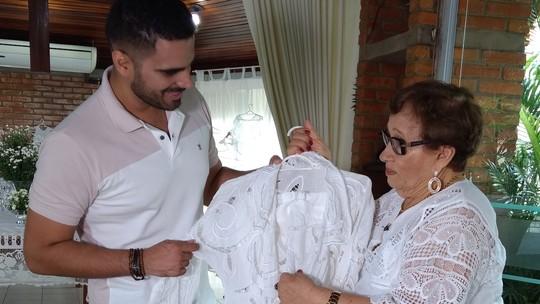 Helenita Miranda, de 90 anos, 'Manda Ver' na arte do bordado