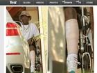 Site divulga primeira foto do ator Tracy Morgan após acidente de carro