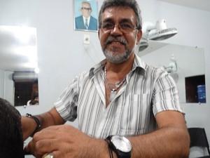 Sou o grande companheiro dela, diz Antônio Vicente (Foto: Thays Estarque/ G1)