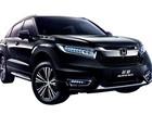 Honda Avancier é novo SUV para o mercado chinês
