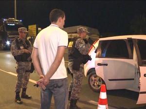 Força Nacional de Segurança começa a atuar em Santa Catarina - GNews (Foto: Reprodução/GloboNews)