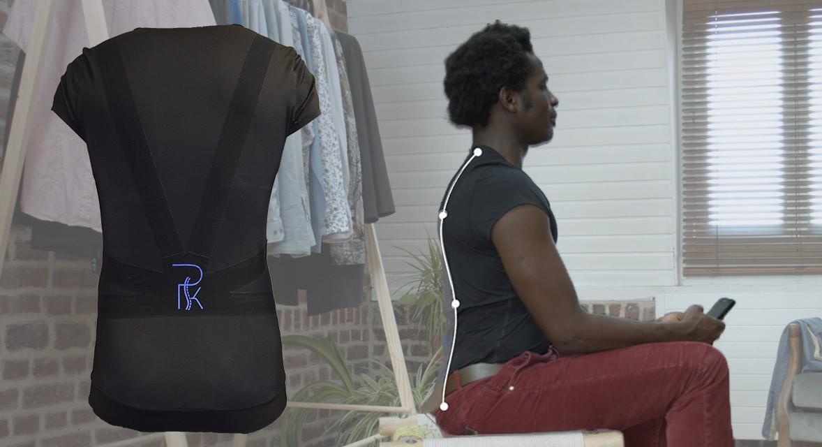 Sucesso no Kickstarter, startup francesa cria roupa que corrige postura corporal