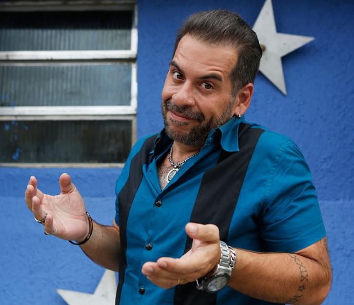 Genésio, personagem de Leandro Hassum em 'Chapa Quente' (Foto: Pedro Carrilho/Gshow)