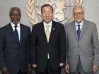 Ban Ki-moon critica o Conselho de Segurança por causa da Síria