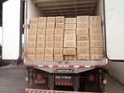 Carga com 25 toneladas de queijo é apreendida em posto fiscal do Piauí