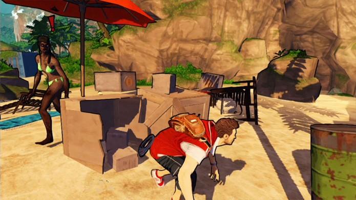 Seja furtivo para executar zumbis sem fazer muito esforço (Foto: GameSpot)