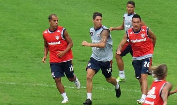 O time das Laranjeiras treina para o Campeonato Carioca (Foto: Rafael Cavalieri/Globoeporte.com)
