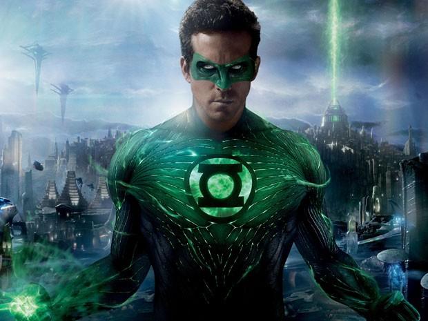 Ryan Reynolds em 'Lanterna verde' (Foto: Divulgação)