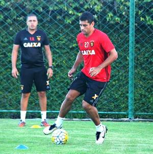 Diego Souza Sport (Foto: Williams Aguiar / Sport Club do Recife)