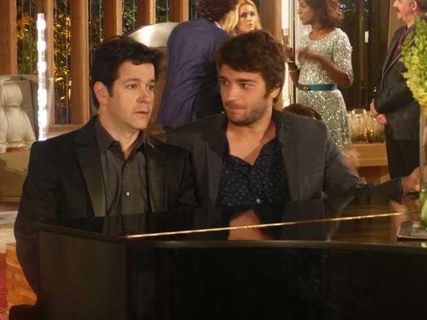 Jonas implica com Davi (Foto: Geração Brasil/TV Globo)