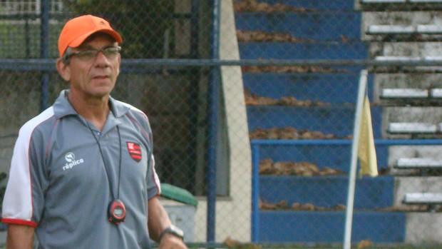 Eduardo Pereira, preparador físico do Flamengo-PI (Foto: Flávio Meireles)