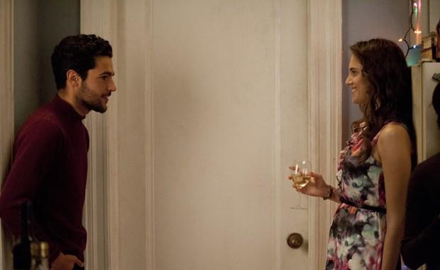 Allison Williams (Marnie) e Christopher Abbott (Charlie) em 'Girls' (Foto: Divulgação)