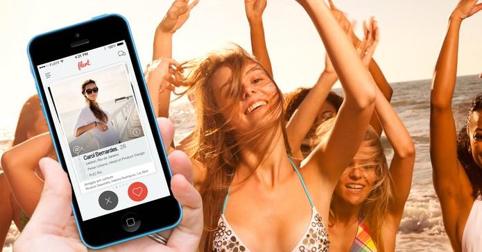 Flert: aplicativo cupido apresenta amigos de contatos do Facebook (Foto: Divulgação/Flert)