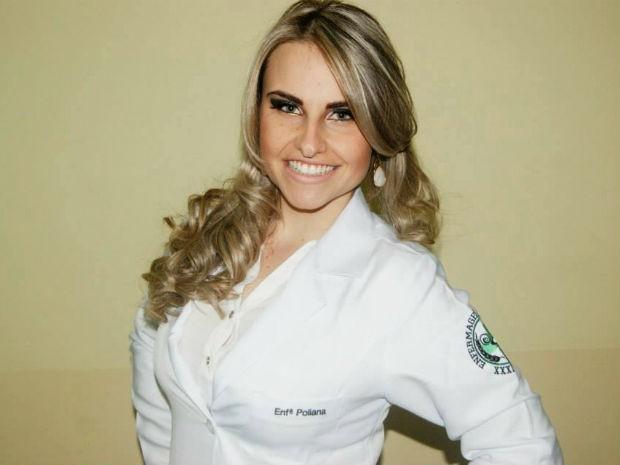 Poliana antes de começar o tratamento contra o câncer (Foto: Arquivo pessoal)