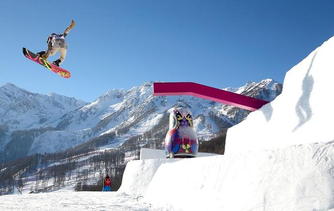 snowboard slopestyle Sochi olimpíadas de inverno (Foto: Getty Images)