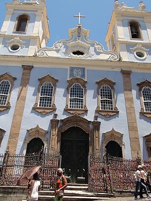Igreja Rosário dos Pretos (Foto: Henrique Mendes/G1)