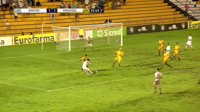 e63451fbe2 Santos x Mirassol - Copa SP de Futebol Júnior 2018 - globoesporte.com
