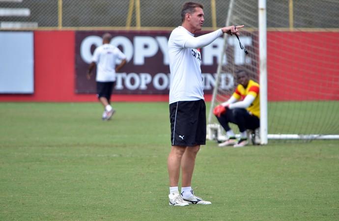 Vitória; treino; Vagner Mancini; Barradão (Foto: Francisco Galvão/EC Vitória/Divulgação)