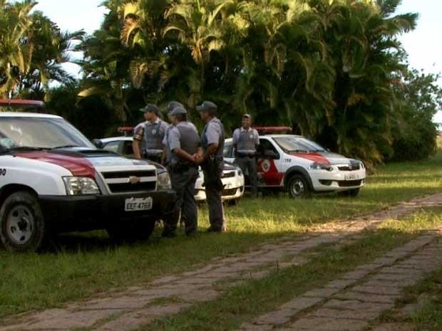 Jovem morre após ser atingido por tiro na cabeça em haras de Indaiatuba, SP (Foto: Reprodução / EPTV)