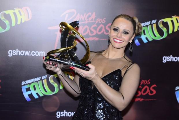Viviane Araújo vence 'Dança dos Famosos' 2015 (Foto: Leo Franco/Agnews)