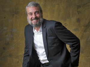 Alexandre Borges deixou a barba crescer para viver Jurandir  (Foto: TV Globo/Renato Rocha Miranda)