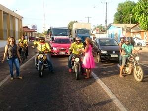 Crianças, doação, livros, projeto, escola, Macapá, Amapá,  (Foto: André Mendonça/Arquivo Pessoal)