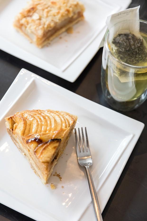 torta de maça do Café Issel  (Foto: Divulgação)