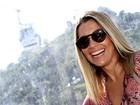 Flávia Alessandra comenta roupa curtinha da filha: 'Ela é ajuizada'