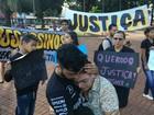 Família de morto após agressão em lava-jato de MS protesta e pede justiça
