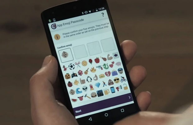 Empresa britânica cria sistema que usa emojis no lugar de números em senhas bancárias. (Foto: Divulgação/Intelligent Enviromnments)