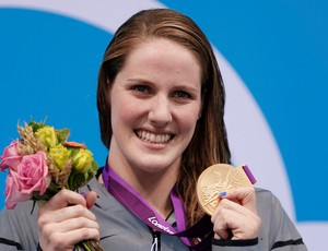 Missy Franklin nata&#231;&#227;o costas olimpiadas londres 2012 (Foto: Reuters)
