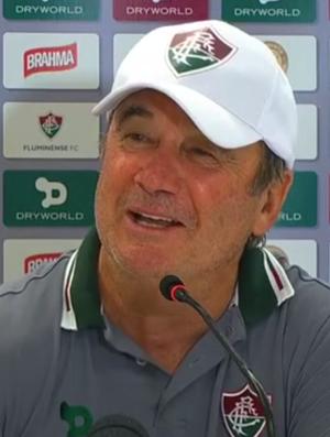 Levir Culpi, técnico do Fluminense; frame (Foto: Reprodução SporTV)
