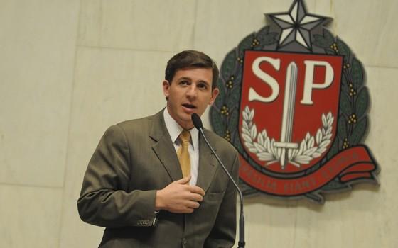 Prefeito de São Bernardo do Campo, Orlando Morando (PSDB) (Foto: Divulgação/Alesp)