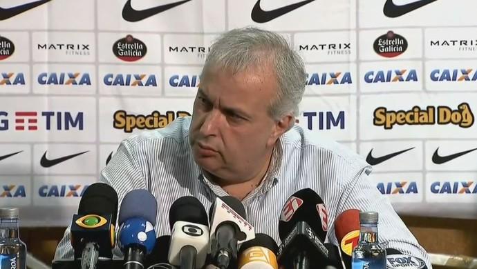 Roberto de Andrade, presidente do Corinthians (Foto: reprodução)