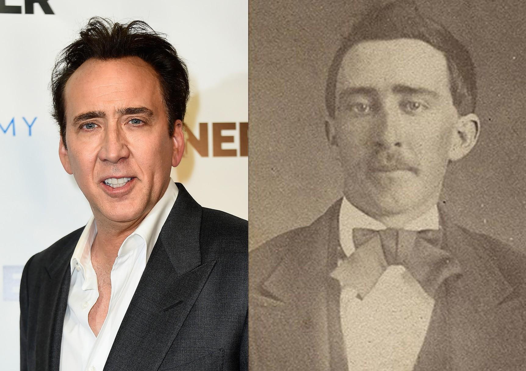 Nicolas Cage na Guerra Civil, quer dizer... (Foto: Getty Images e Reprodução)