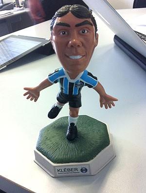 Boneco do Kleber do Grêmio (Foto: Divulgação)