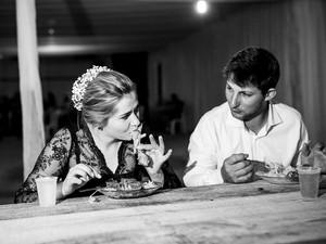 Comida servida na noite do Quebra-Louça é a sopa de miúdos de galinha (Foto: André Alves)
