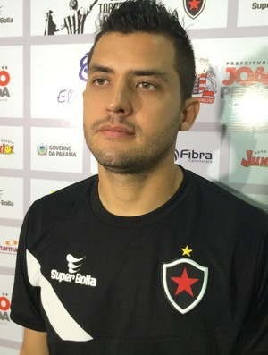 Nata, Botafogo-PB (Foto: Lucas Barros / GloboEsporte.com)