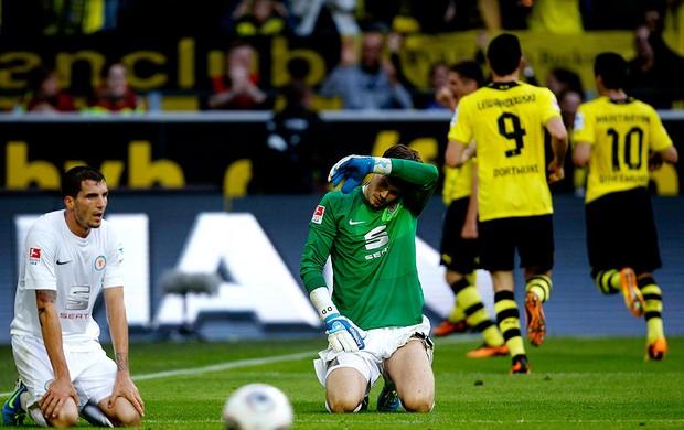 marco reus borussia dortmund gol Eintracht Braunschweig (Foto: Agência Reuters)