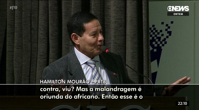 Candidato a vice na chapa de Bolsonaro diz que foi mal-entendido