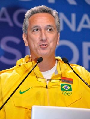 Marcos Vinícius Freire no 2º Fórum Nacional do Esporte (Foto: Marcelo Prado / globoesporte.com)