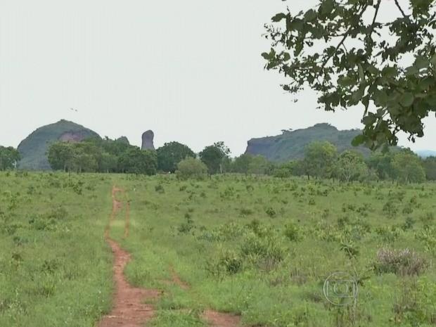 Terra indígena de Jarudore é disputada por bororos e posseiros há mais de cinquenta anos, desde criação de distrito de Poxoréu sobreposto às terras. (Foto: Reprodução/Globo Rural)