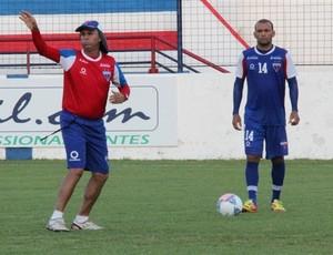 Luiz Carlos Martins definiu a equipe titular contra o Sampaio Corrêa (Foto: Divulgação/Site do Fortaleza)