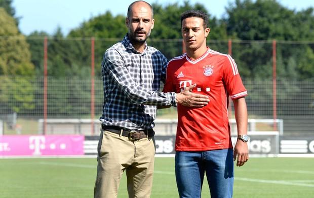 Thiago Alcantara, Bayern de munique (Foto: Agência AFP)
