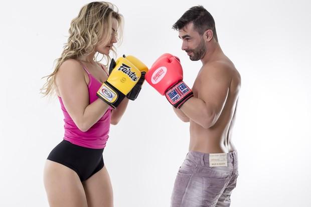 Laura Keller e Jorge Sousa (Foto: Marcos Mello/ Divulgação)