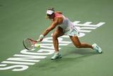 S�lida, Kerber se imp�e sobre Halep e vence mais uma partida no WTA Finals