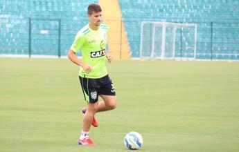 """Apresentado no Figueirense, Everaldo promete """"fazer mais que ano passado"""""""